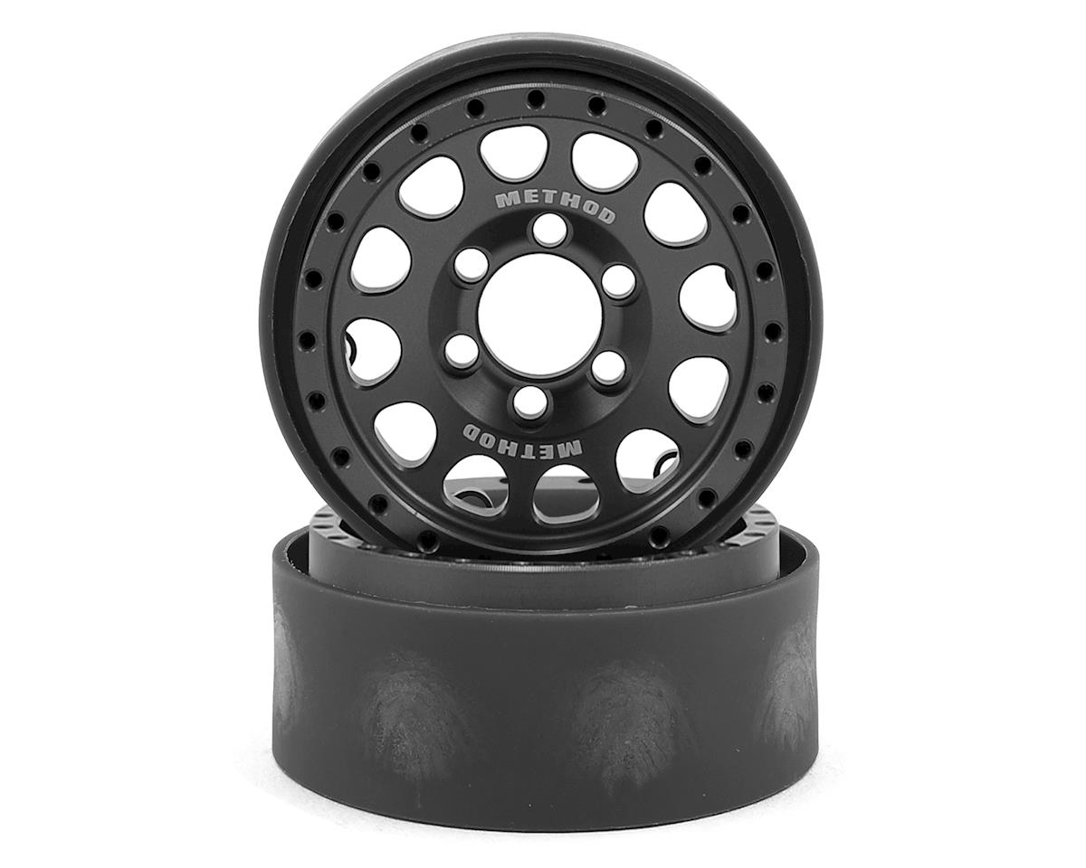 "Vanquish Products Method 105 1.9"" Wheel (2) (Grey/Black)"