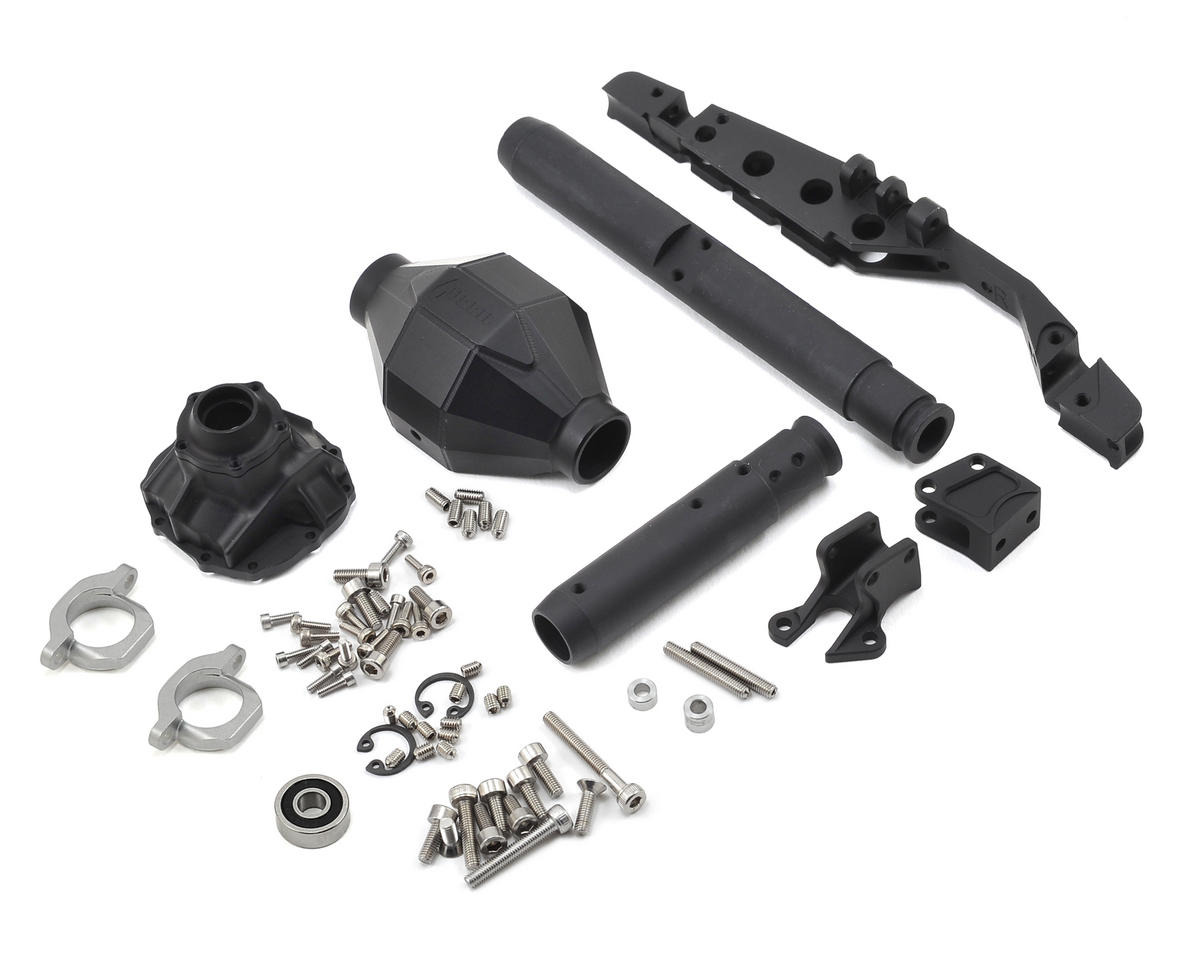 Vanquish Products AR60 Currie F9 Rear Axle (Black) (Axial RR10 Bomber)