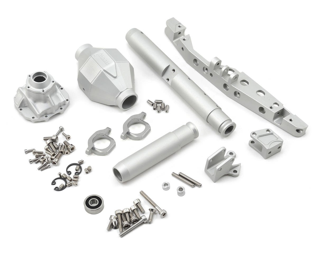 AR60 Currie F9 Rear Axle (Silver) by Vanquish Products