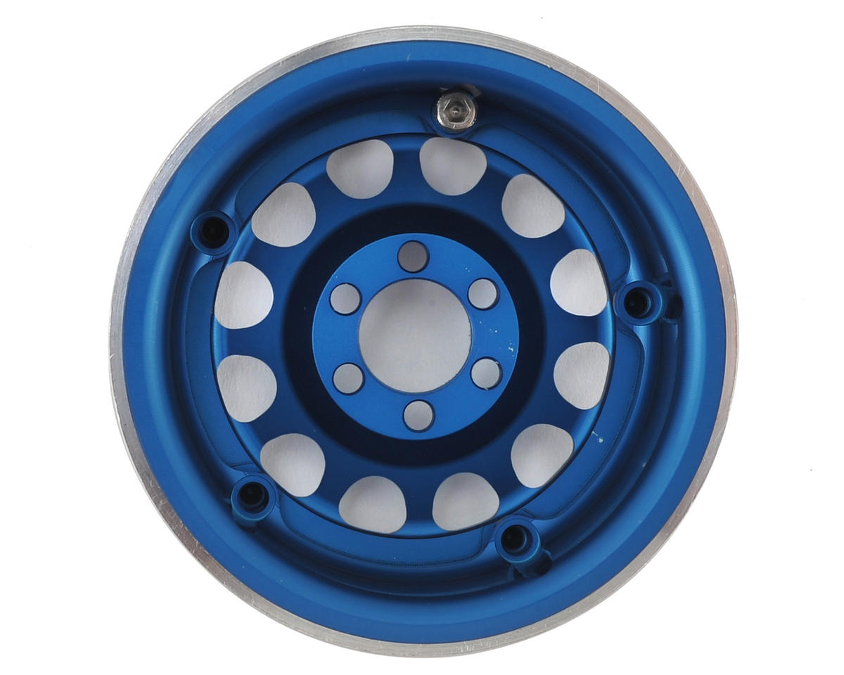 """Method 105 2.2"""" Wheel (Blue/Silver) (2) (1.2"""" Wide) by Vanquish Products"""