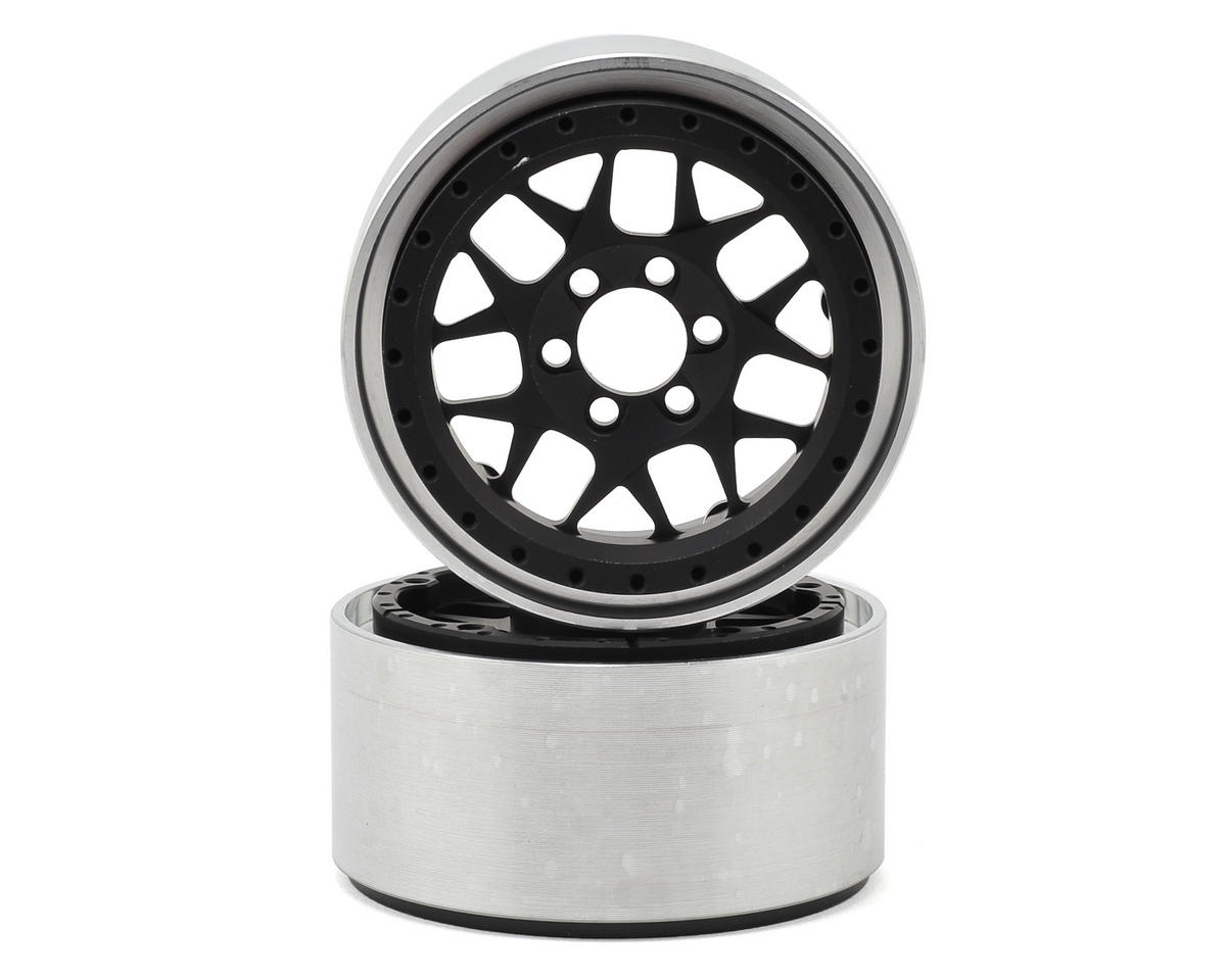 "Vanquish Products KMC XD127 2.2"" Wheel (Black/Black) (2) (1.2"" Wide)"