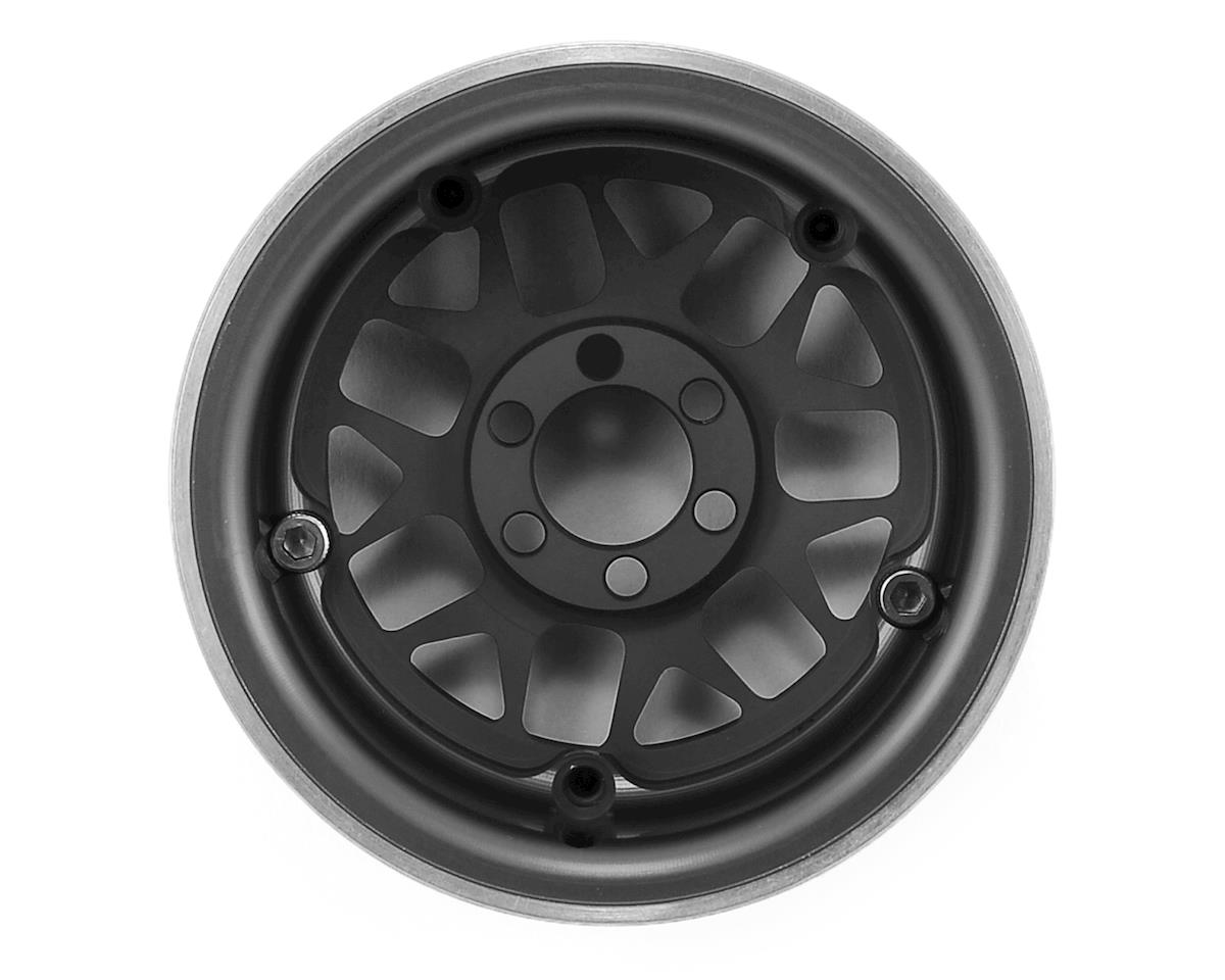 "Vanquish Products KMC XD127 Bully 2.2"" Wheel (Black/Silver) (2) (1.2"" Wide)"
