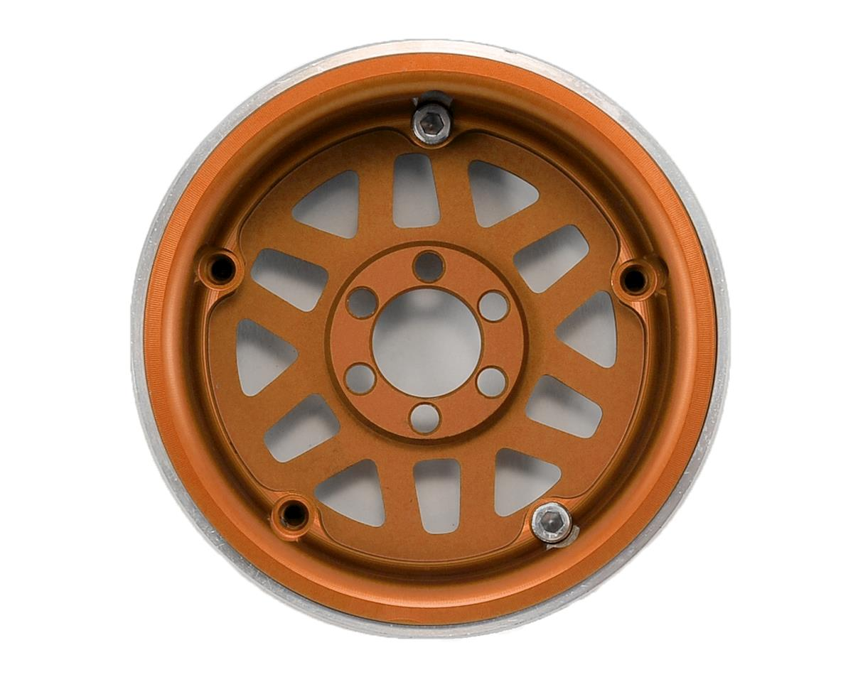 "Vanquish Products KMC XD229 Machete 2.2"" Beadlock Wheels (Orange/Black) (2)"