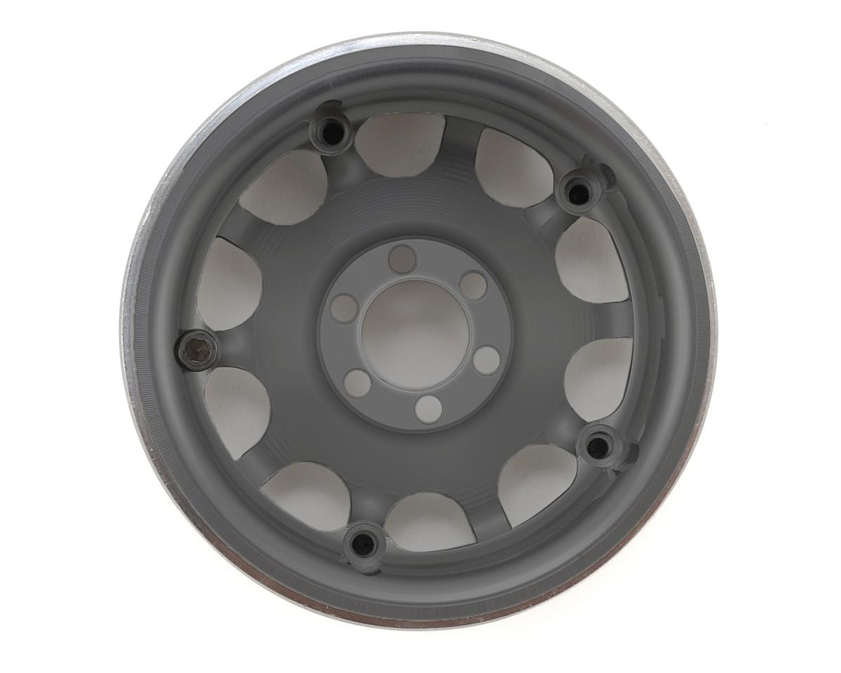 """Vanquish Products Method Roost 2.2"""" Beadlock Wheels (2) (Grey) (1.2"""" Wide)"""