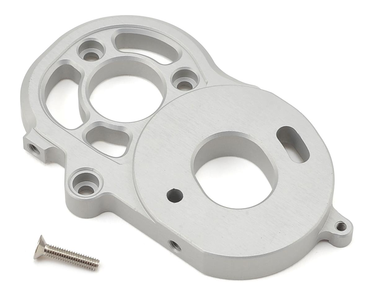 SCX10 II 2-Speed Transmission Motor Plate (Silver) by Vanquish Products