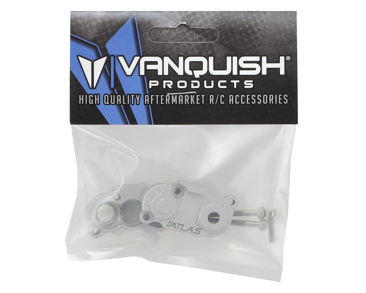 Vanquish Products Atlas SCX10 II Aluminum Transfer Case (Silver)
