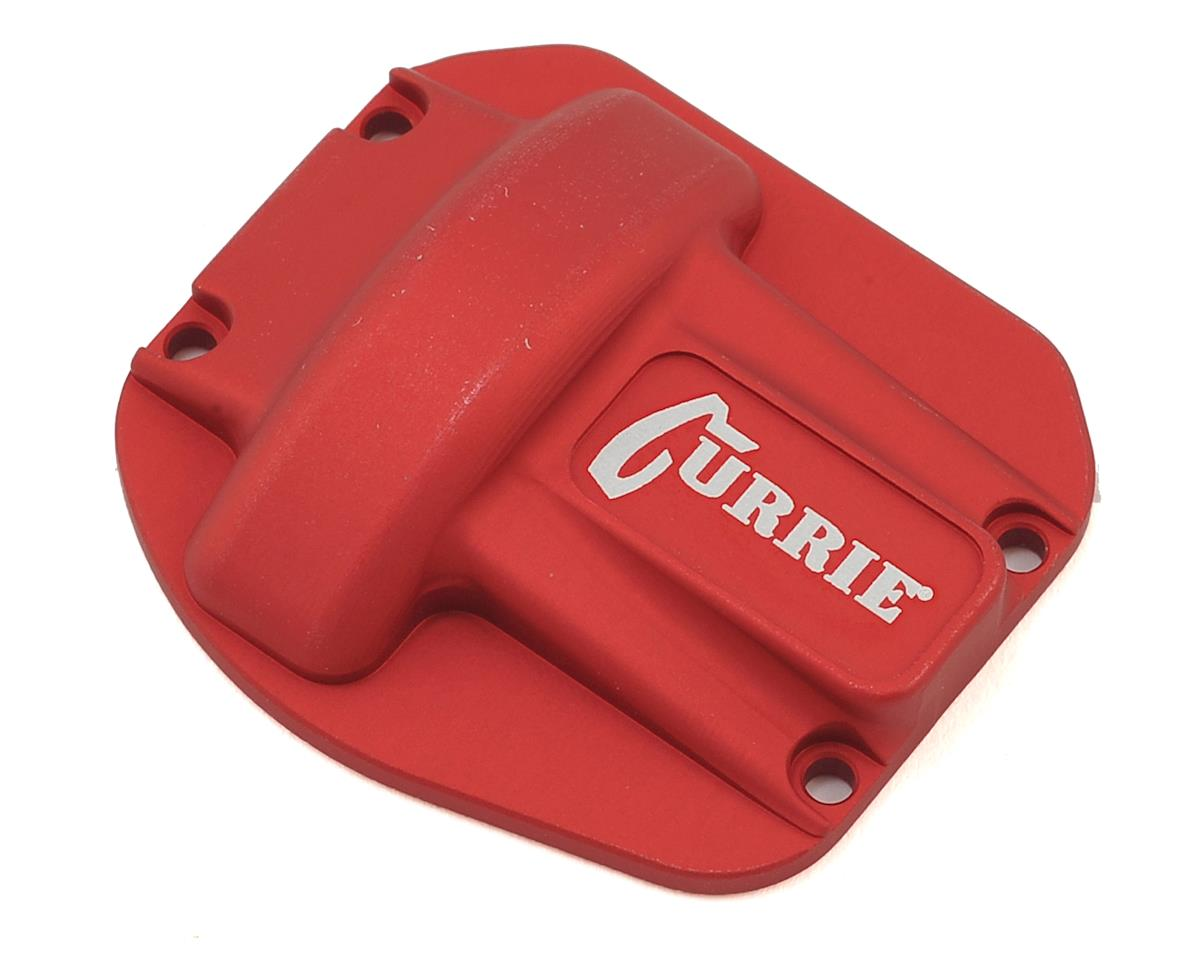 Currie Rockjock Ascender Diff Cover (Red) by Vanquish Products