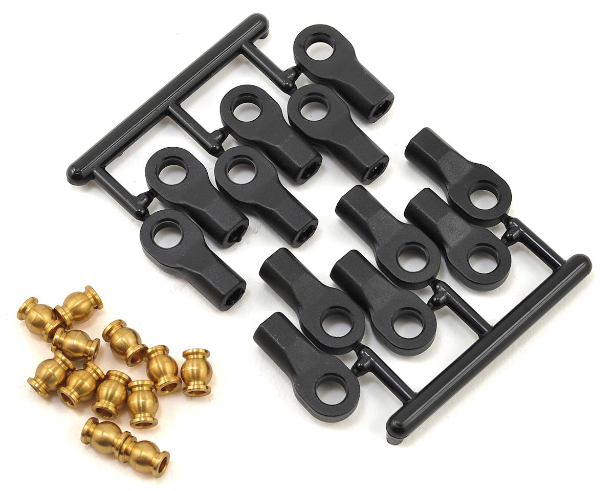 Vanquish Products Brass Pivot Balls w/RPM Rod Ends (12) (Axial SCX10)