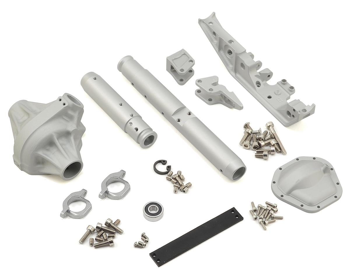 Vanquish Products Currie Rockjock 70 Wraith Rear Axle (Silver) (Axial RR10 Bomber)