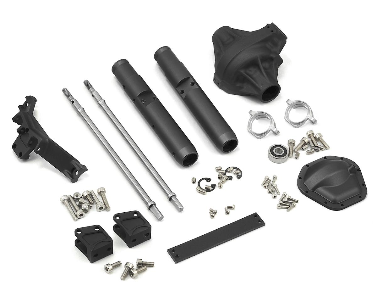 Vanquish Products Wraith/Yeti Currie Rockjock Centered Rear Axle (Black)