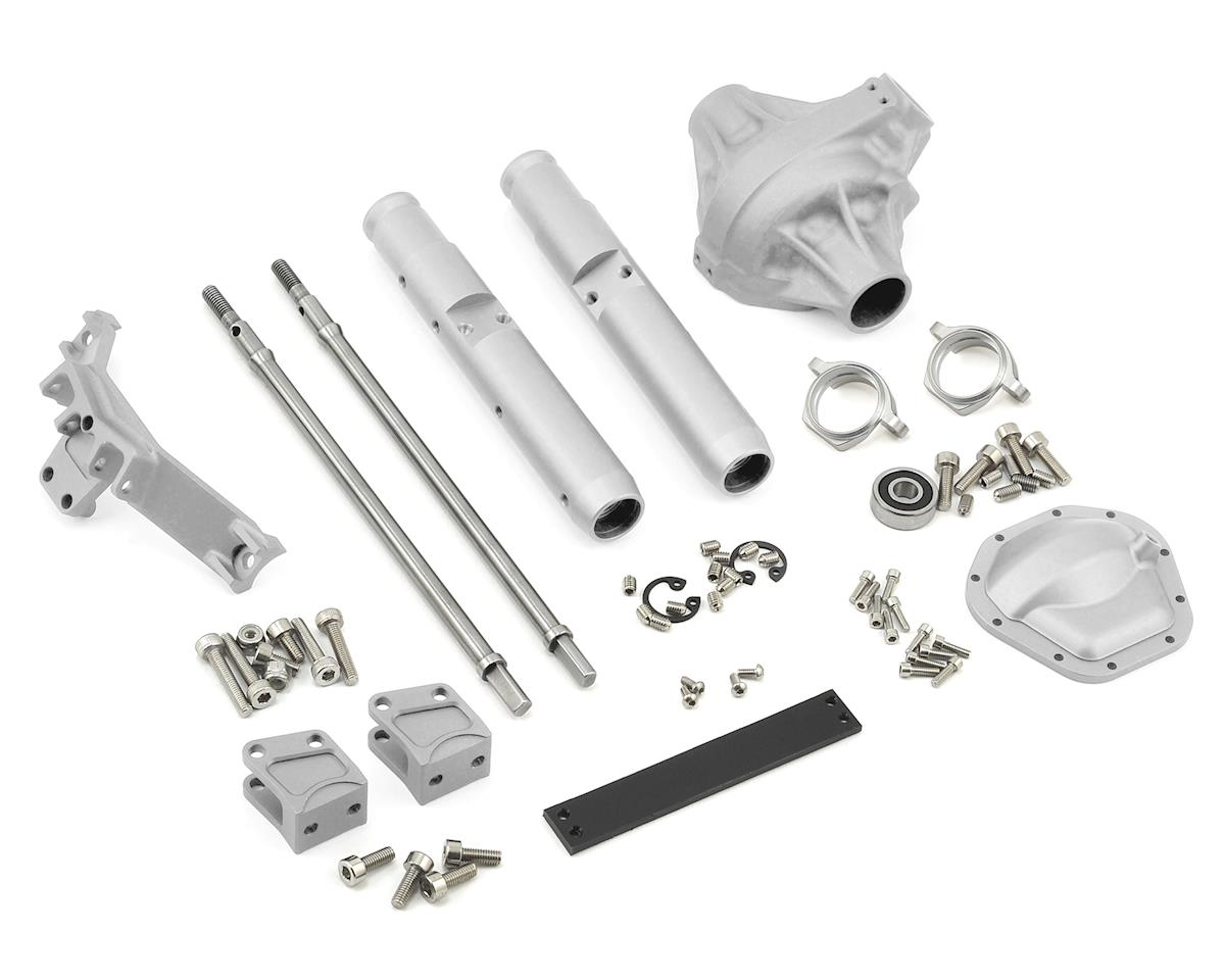 Vanquish Products Wraith/Yeti Currie Rockjock Centered Rear Axle (Silver)