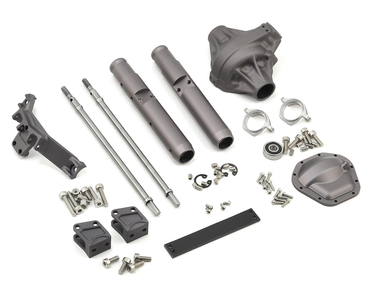 Vanquish Products Wraith/Yeti Currie Rockjock Centered Rear Axle (Grey)