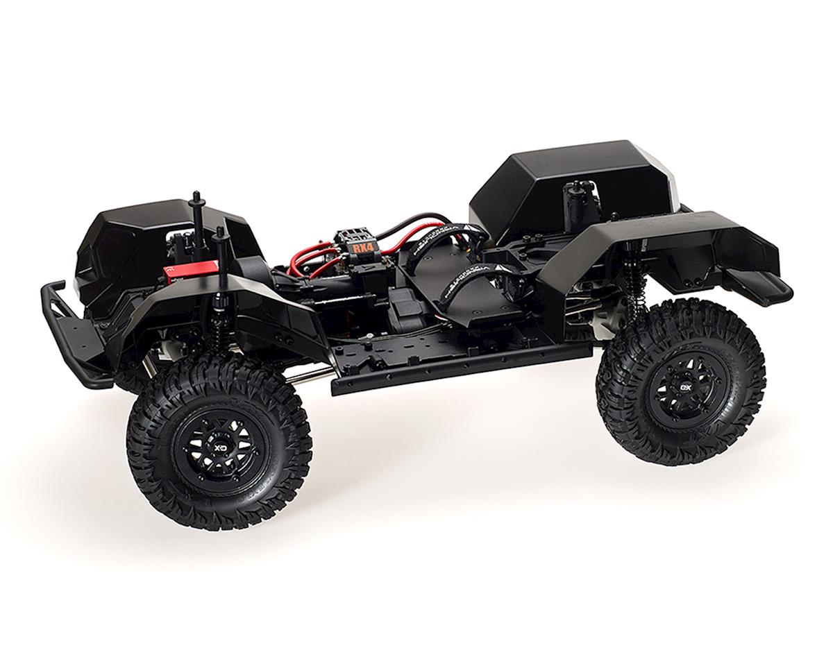 Vanquish Products VS4-10 Pro Rock Crawler Kit w/Origin Half Cab Body (Clear)