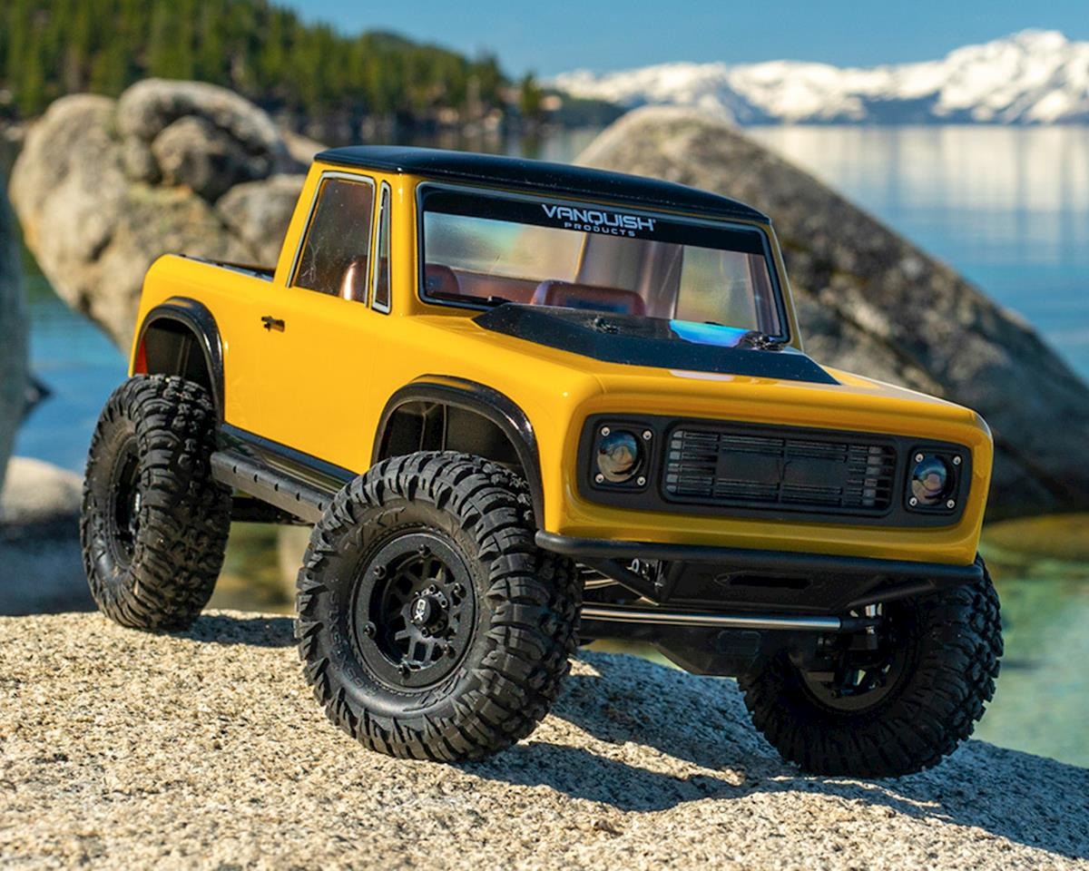 Vanquish Products VS4-10 Pro Rock Crawler Kit w/Origin Half Cab Body (Black)