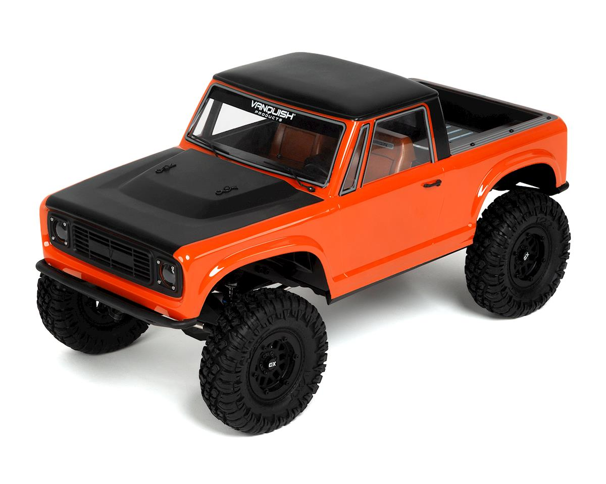 Vanquish Products VS4-10 Ultra Rock Crawler Kit w/Origin Half Cab Body (Black)