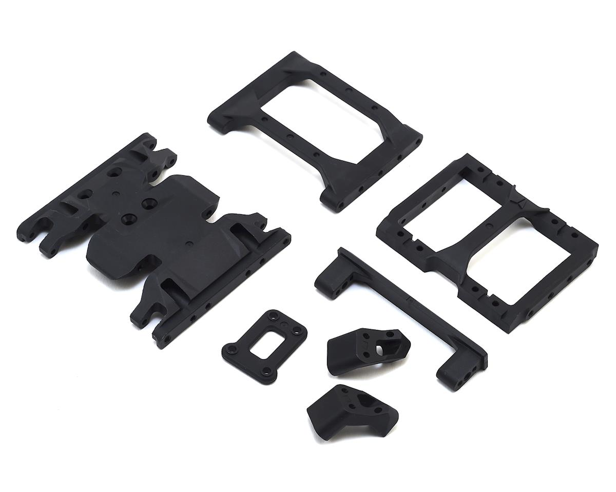 Vanquish Products VS4-10 Skid Plate & Chassis Brace Set