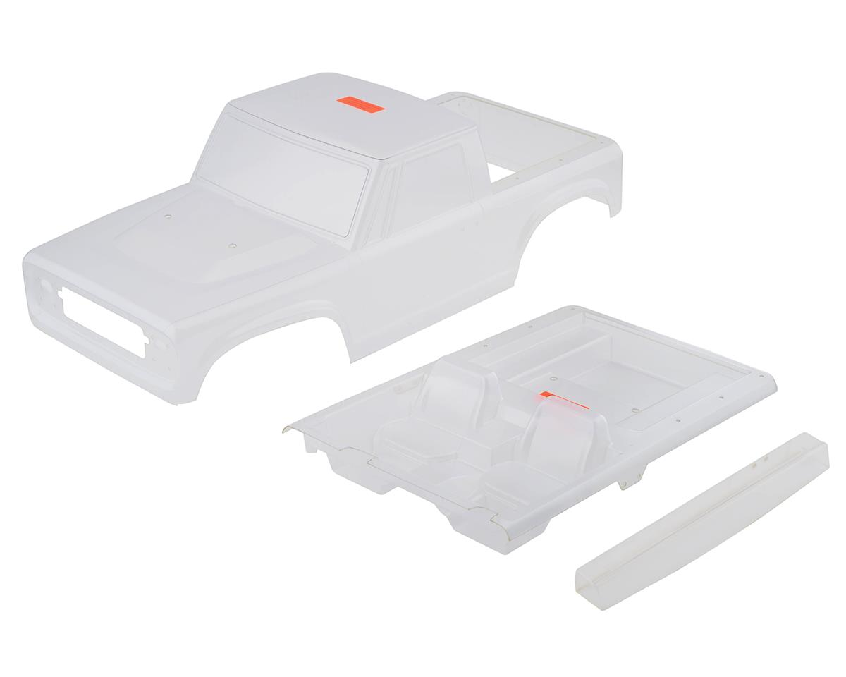 Vanquish Products VS4-10 Origin Halfcab Body Set (Clear) | relatedproducts