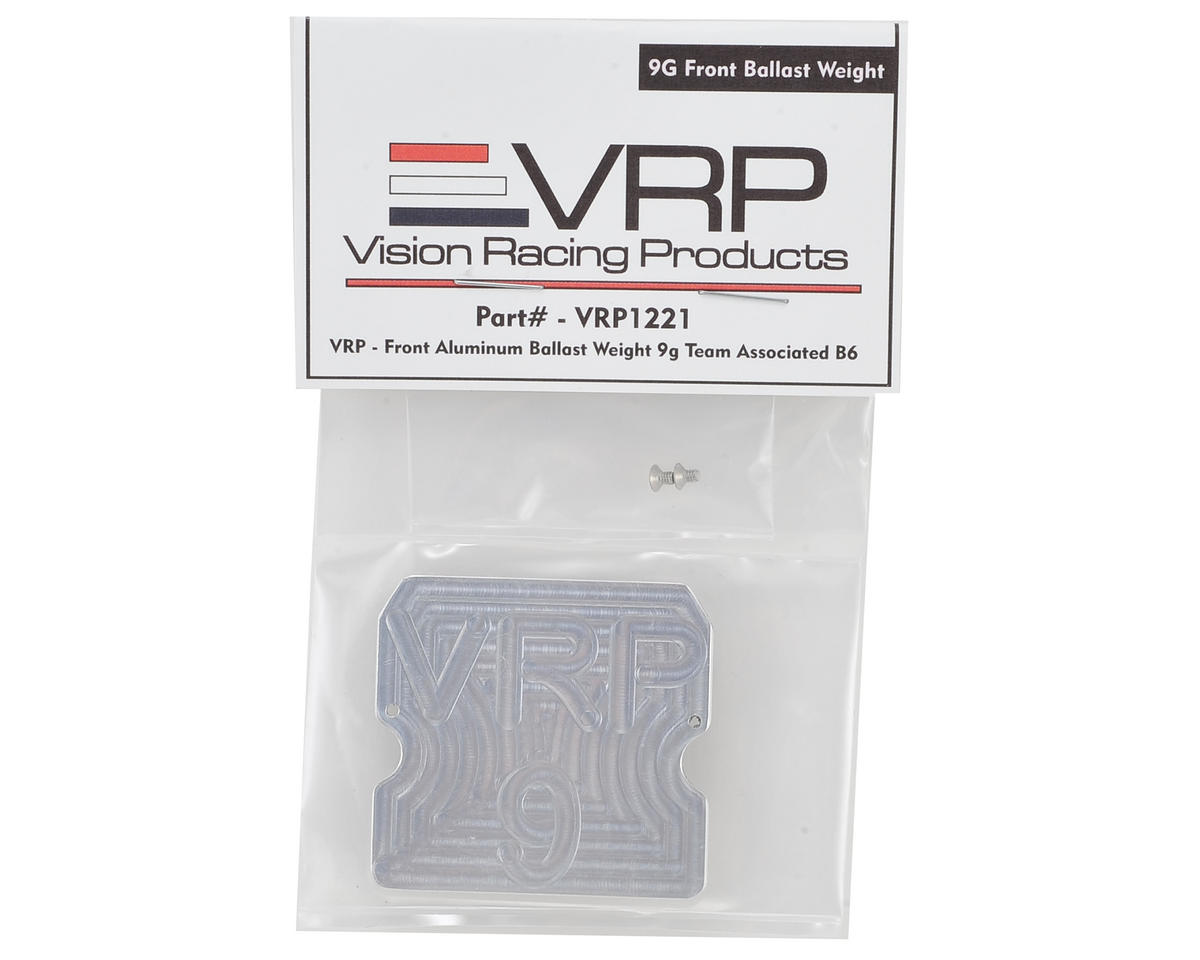 VRP B6 Front Aluminum Chassis Weight (8g)