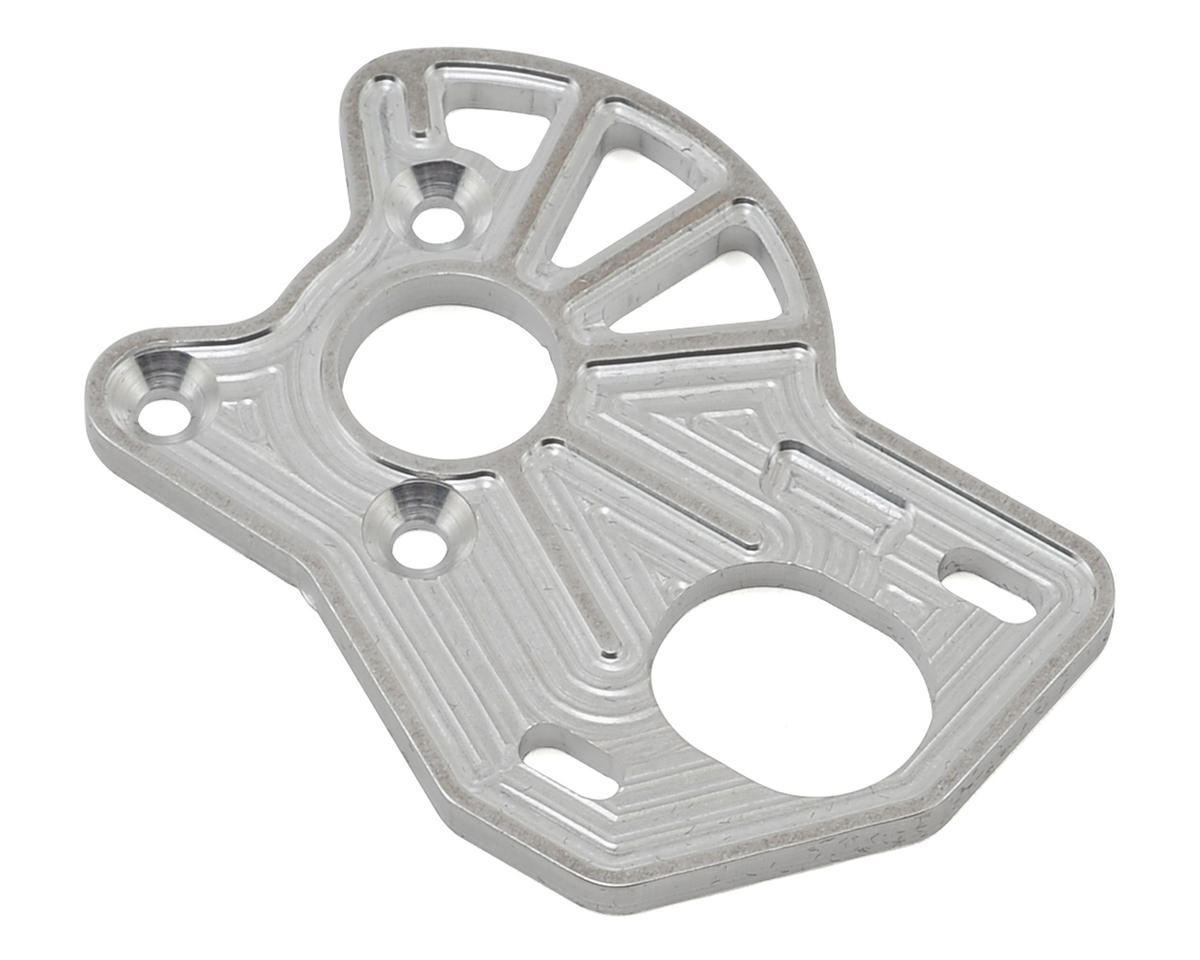 VRP Associated B6 'Spur Guard' Laydown Motor Plate (Silver)