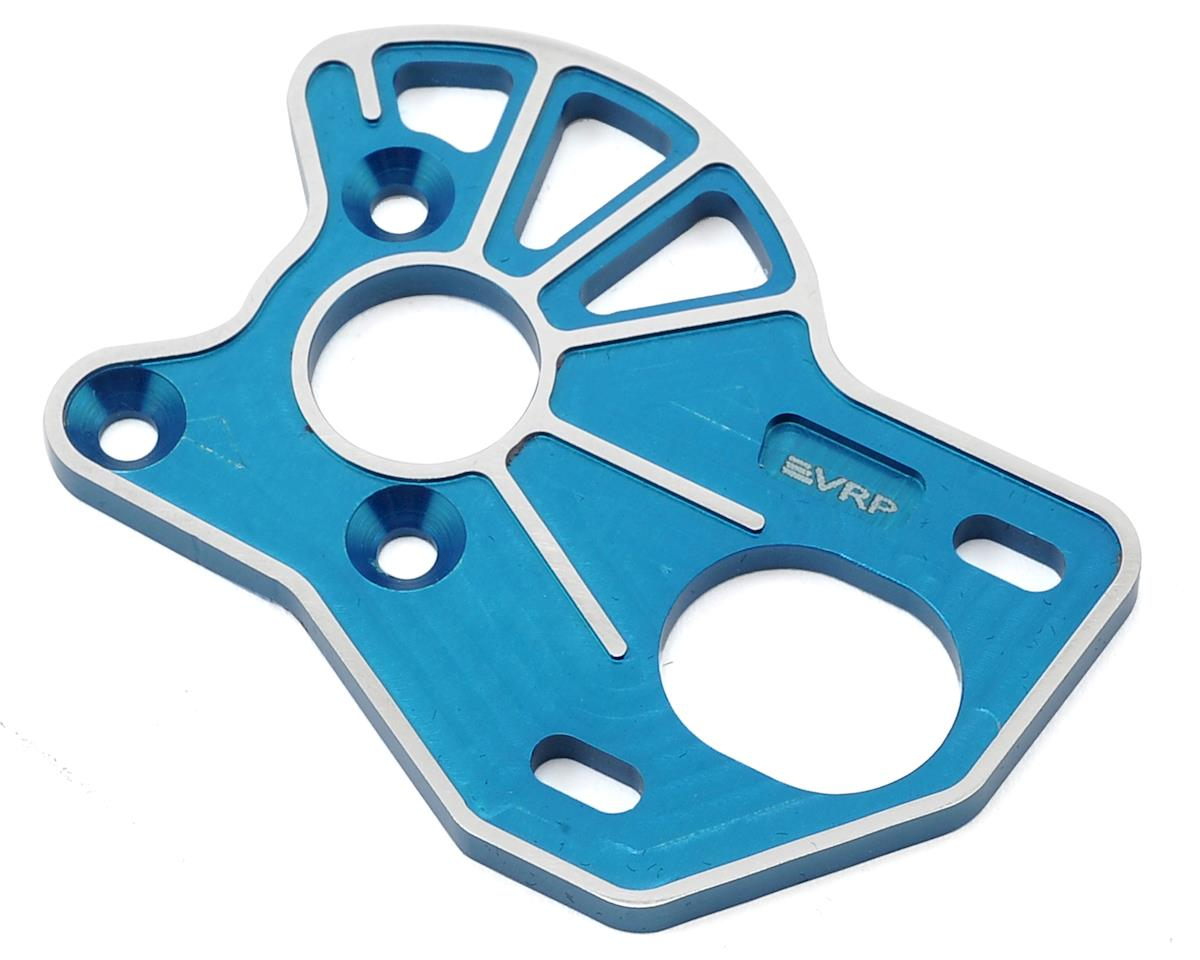 VRP Associated B6 'Spur Guard' Laydown Motor Plate (Blue)