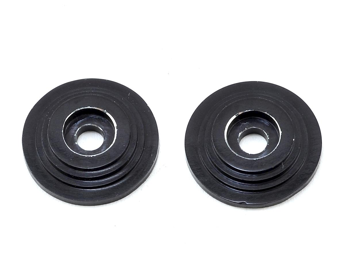 "VRP ""Saturn"" 1/8 Wing Button (Black) (2)"