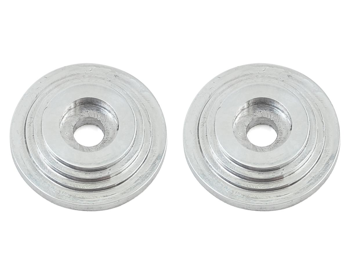 "VRP ""Saturn"" 1/8 Wing Button (Chrome) (2) (Mugen Seiki MBX6)"