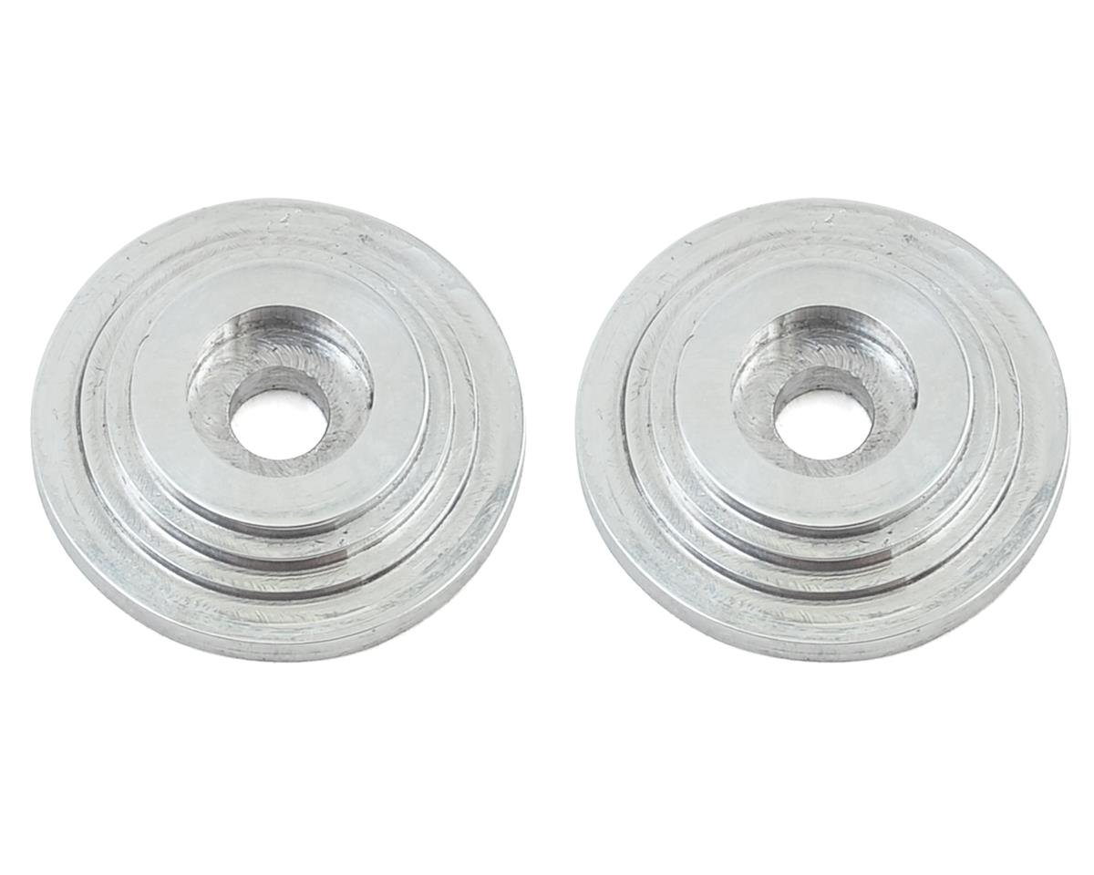 "VRP ""Saturn"" 1/8 Wing Button (Chrome) (2) (Losi 8IGHT-T 3.0)"