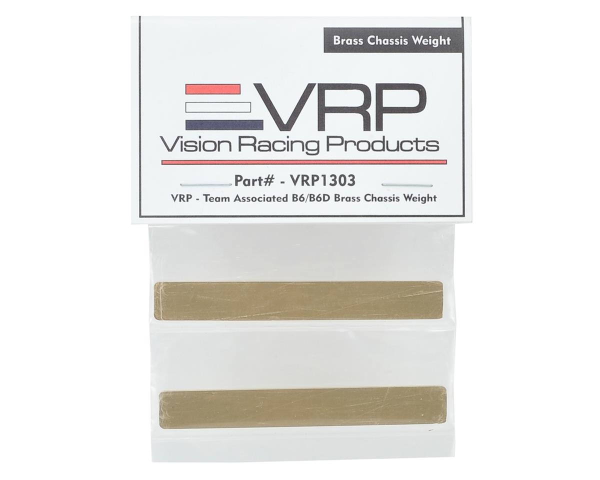 VRP B6/B6D Brass Chassis Weight