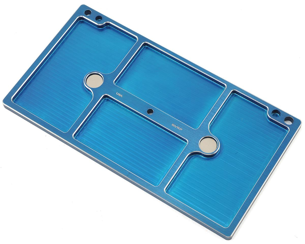 VRP 150mmx80mm Aluminum Large Parts Tray (Blue)