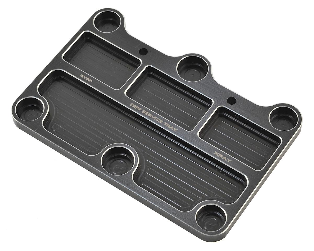 XRAY Differential Service Tray (Black) by VRP