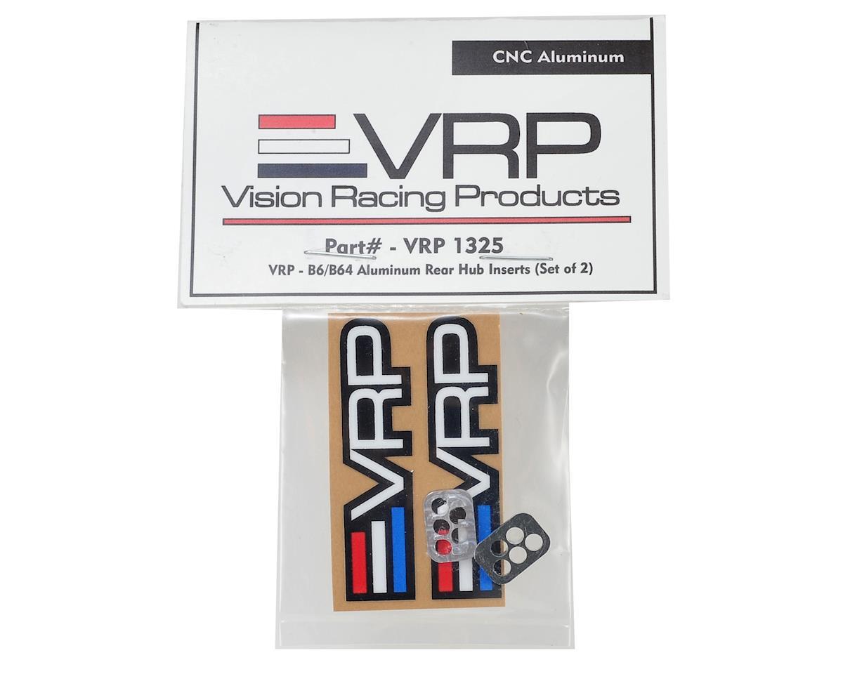 VRP Aluminum B6/B64 Series Rear Hub Inserts (2)