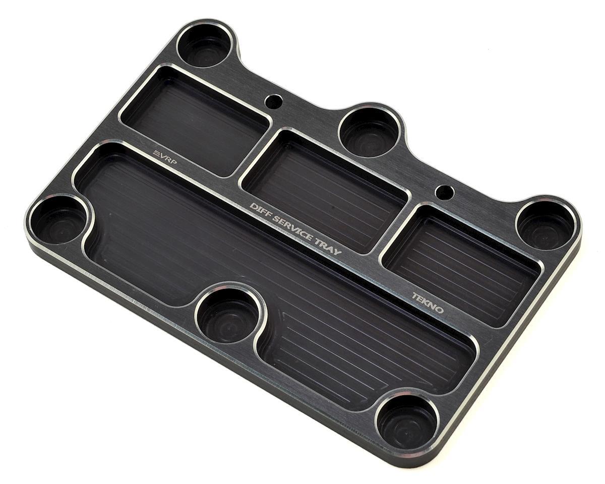 VRP Tekno 1/8 Diff Service Tray (Black)