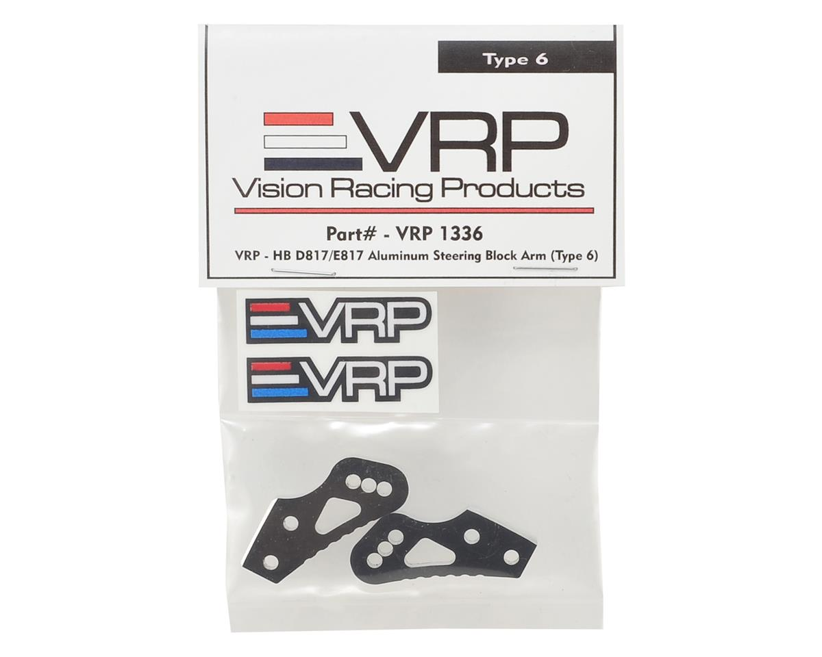 Hot Bodies D817/E817 Aluminum Steering Block Arm (Type 6) by VRP