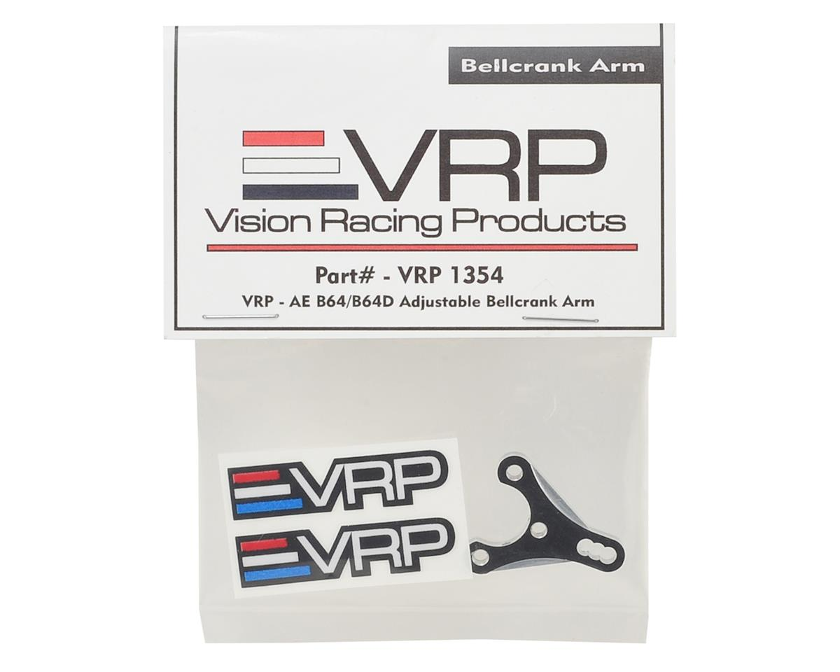 B64/B64D Aluminum Adjustable Bellcrank Arm by VRP