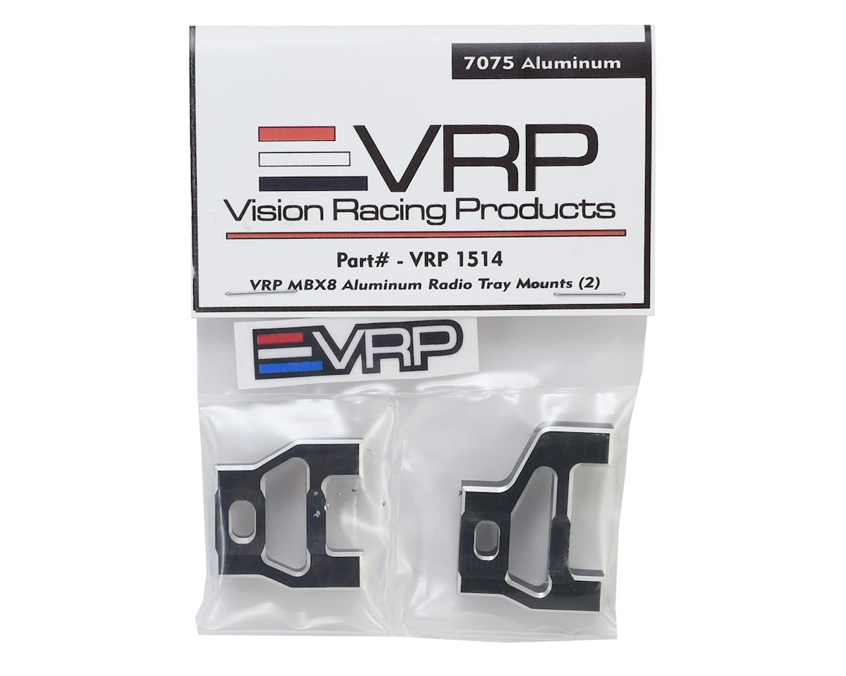 VRP MBX8 Aluminum Radio Tray Mounts (2)