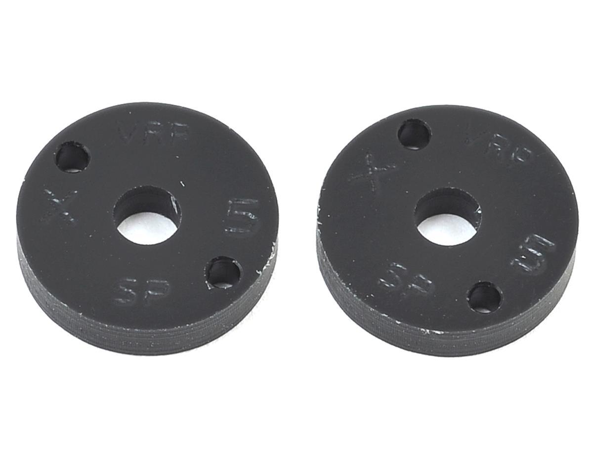"VRP 12mm AE/TLR/Yokomo 1/10 Machined ""SP"" Shock Piston (2) (1.5mm x 2 Hole)"