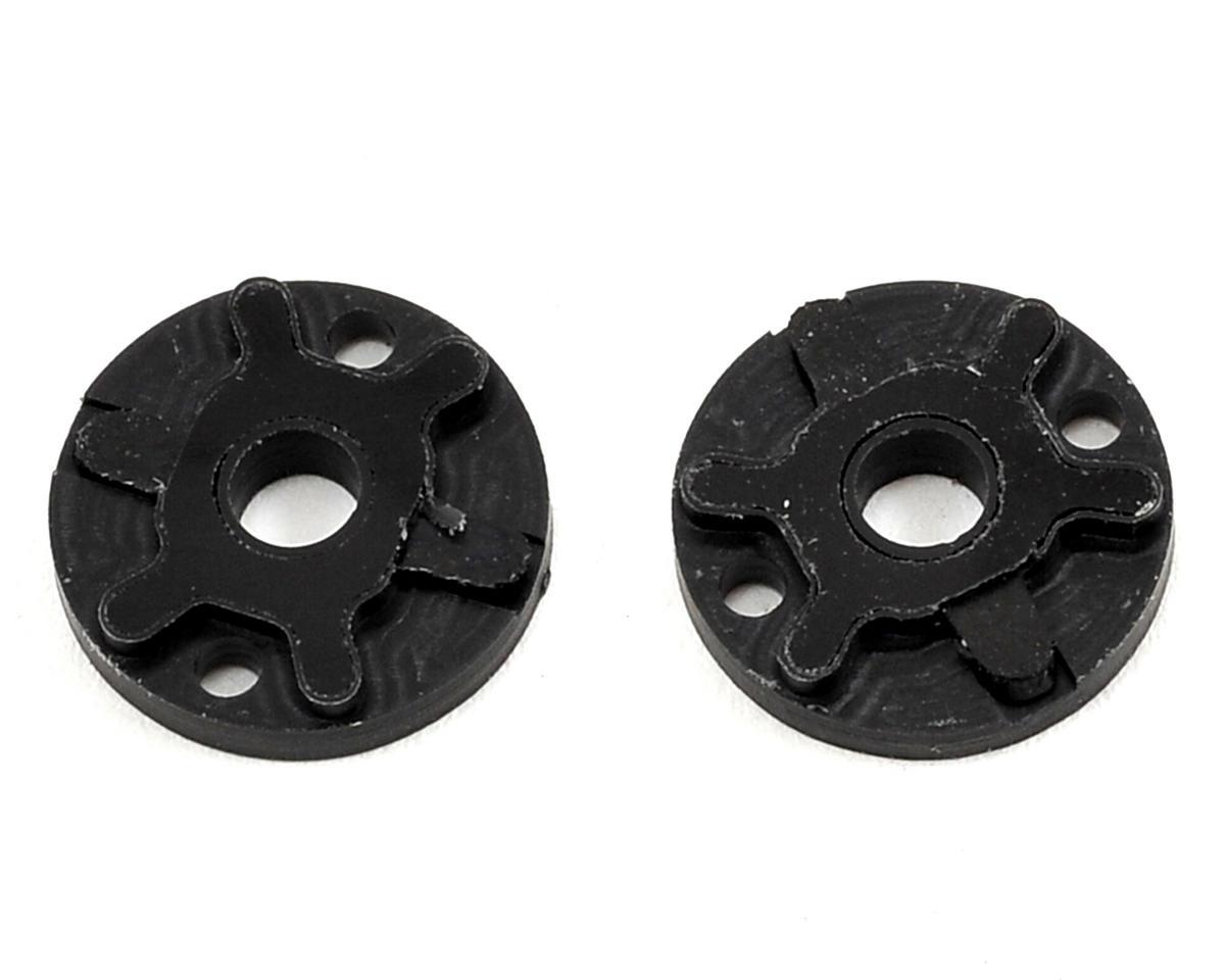 """VRP 12mm AE/TLR/Yokomo 1/10 Tapered """"X V2"""" Shock Piston (2) (1.6mm x 2 Hole)"""