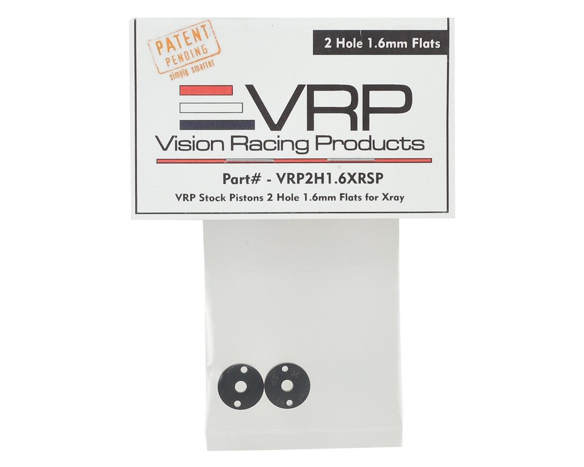 VRP XRAY XB2/XB4 SP 1/10 Machined Shock Piston (2) (1.6mm x 2 Hole)