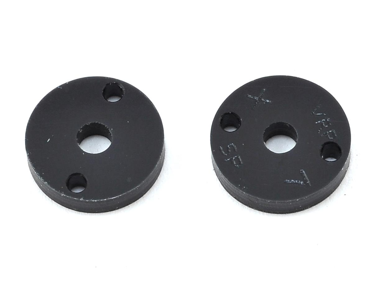 "VRP 12mm Kyosho 1/10 Machined ""SP"" Shock Piston (2) (1.7mm x 2 Hole)"