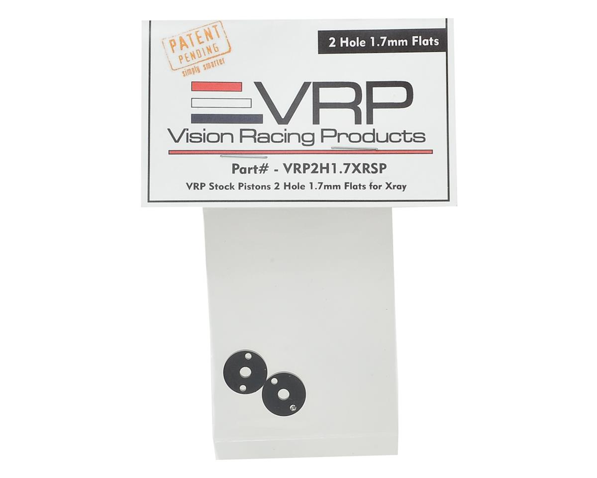 XRAY XB2/XB4 SP 1/10 Machined Shock Piston (2) (1.7mm x 2 Hole) by VRP