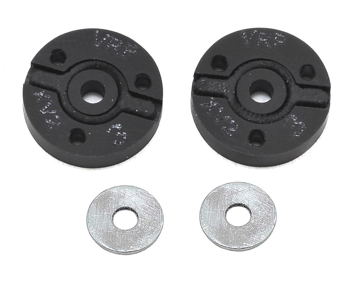 "VRP 12mm Hot Bodies D413 1/10 ""X V2"" Shock Piston (2) (1.3mm x 3 Hole) (HB Racing D216)"