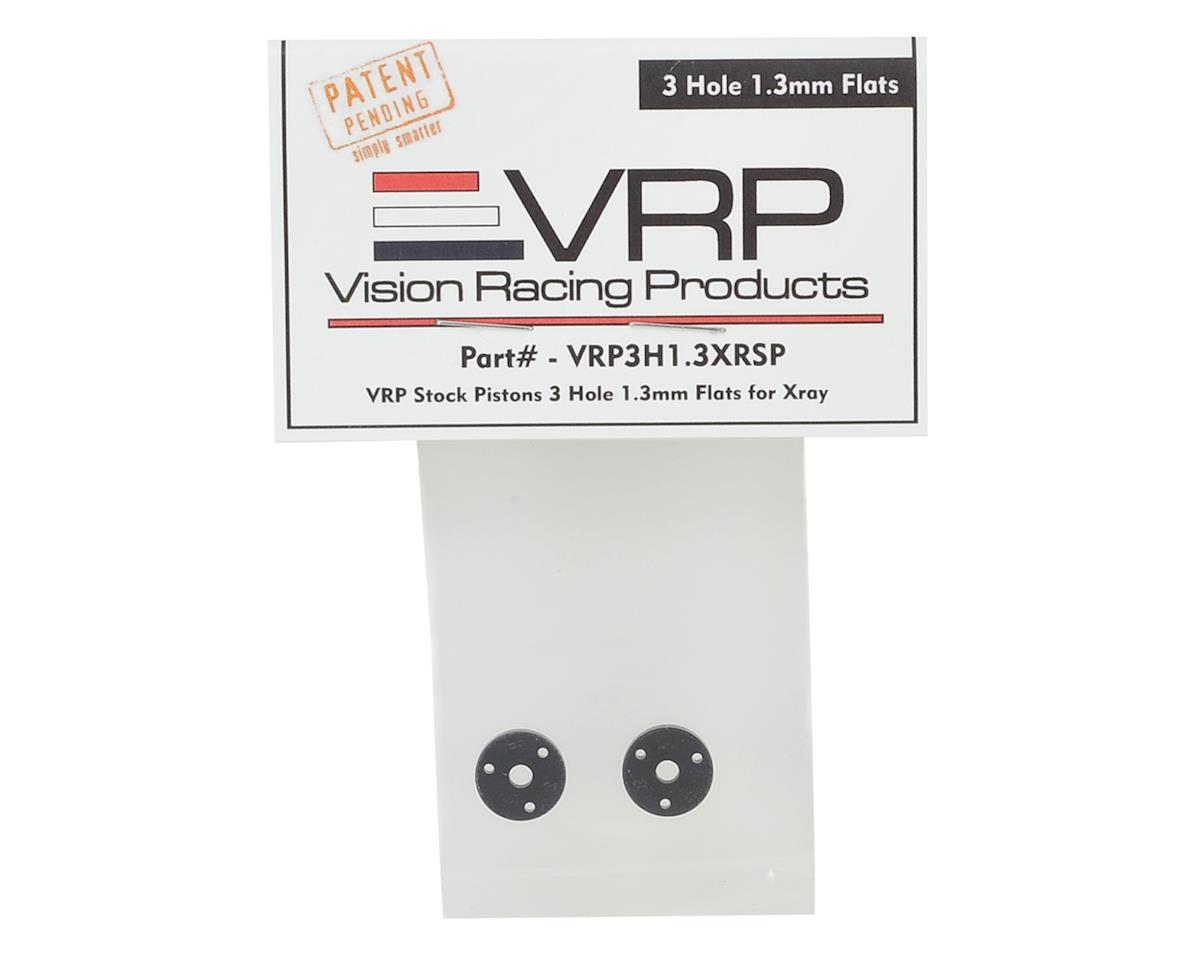 VRP XRAY XB2/XB4 SP 1/10 Machined Shock Piston (2) (1.3mm x 3 Hole)