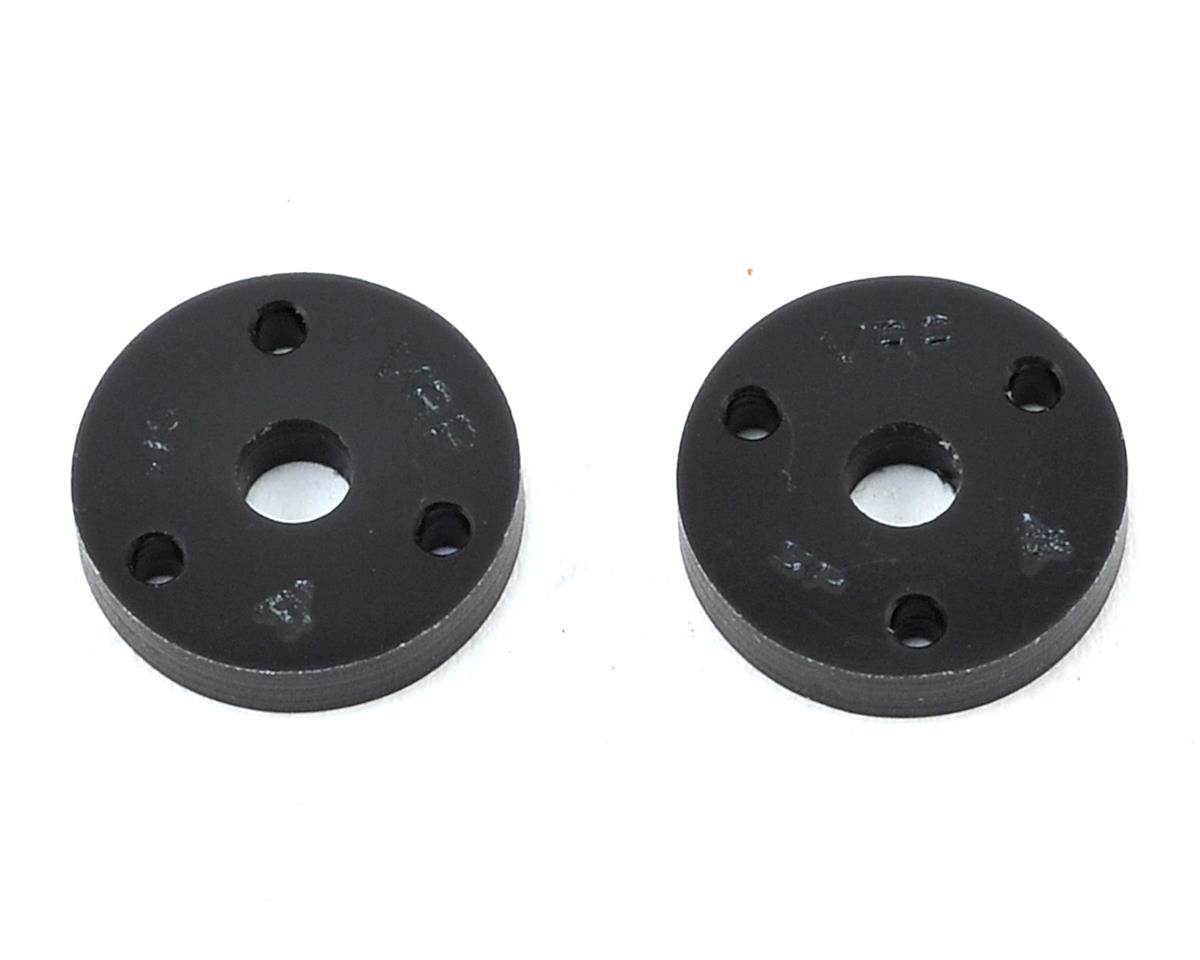 "VRP 12mm AE/TLR/Yokomo 1/10 Machined ""SP"" Shock Piston (2) (1.4mm x 3 Hole)"