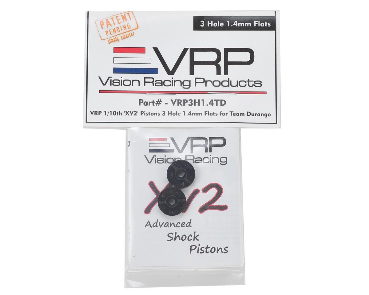 "VRP Team Durango 1/10 ""X V2"" Shock Piston (2) (1.4mm x 3 Hole)"