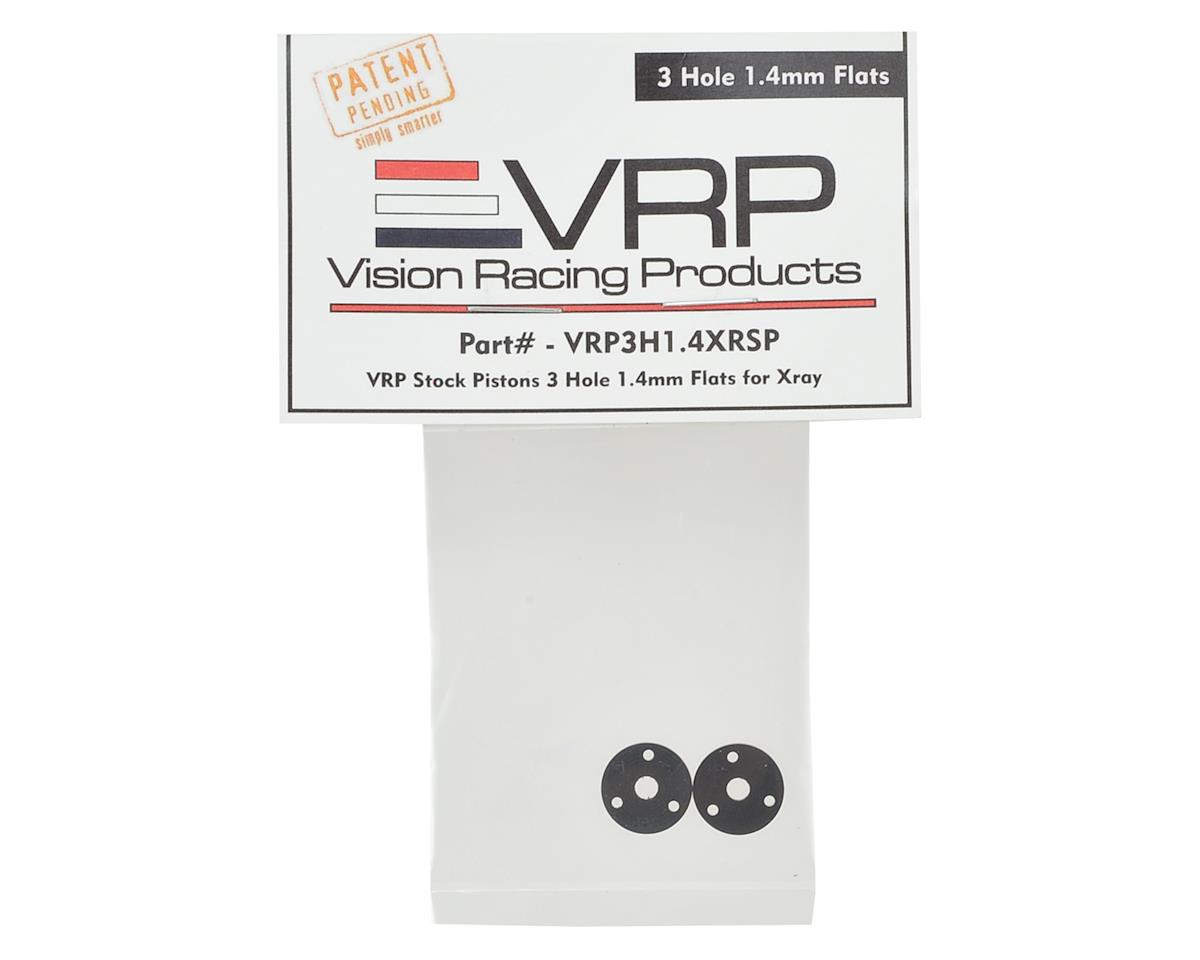 XRAY XB2/XB4 SP 1/10 Machined Shock Piston (2) (1.4mm x 3 Hole) by VRP