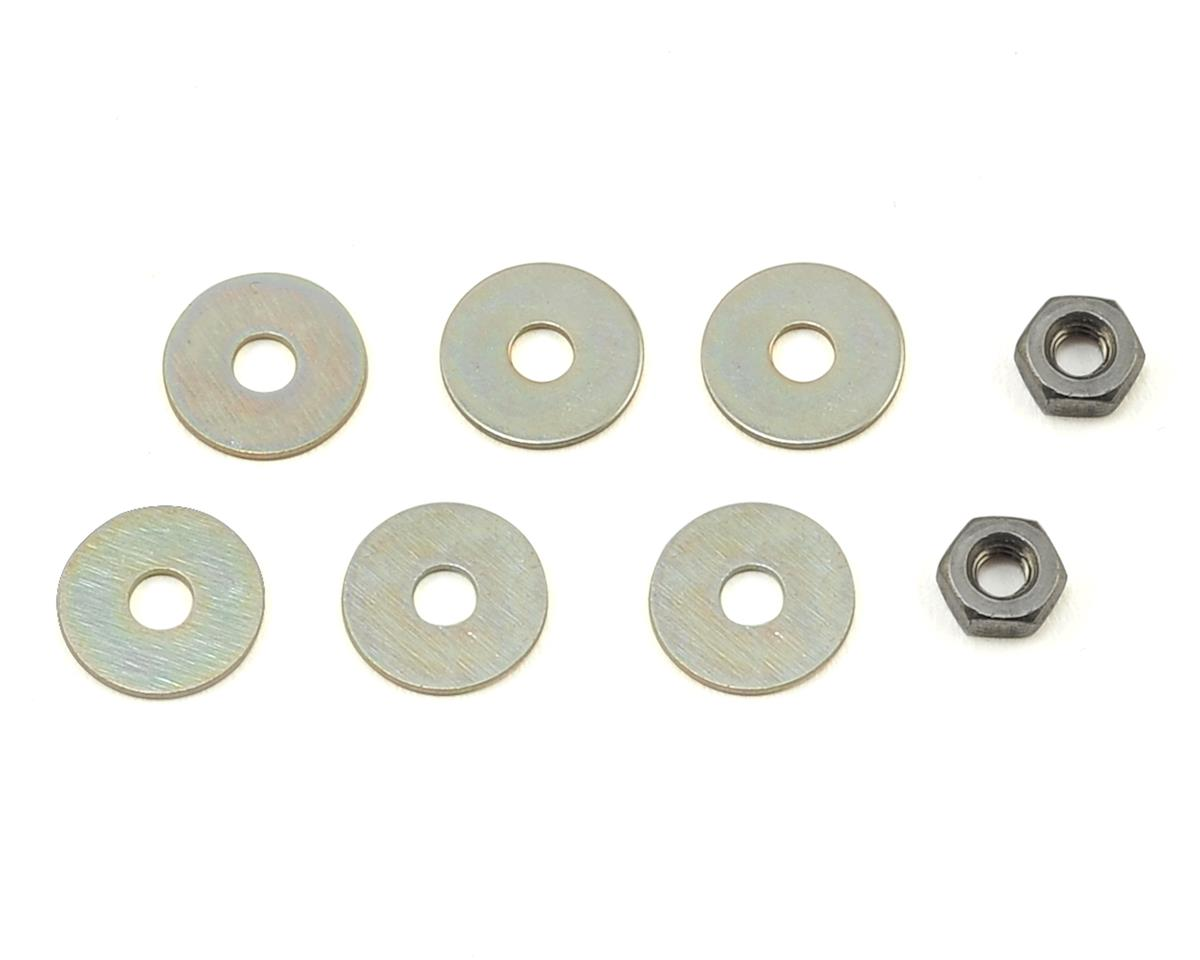 "VRP Kyosho/XRAY/Tekno 1/8 ""X V3"" Shock Piston (2) (2.0mm x 4 Hole)"