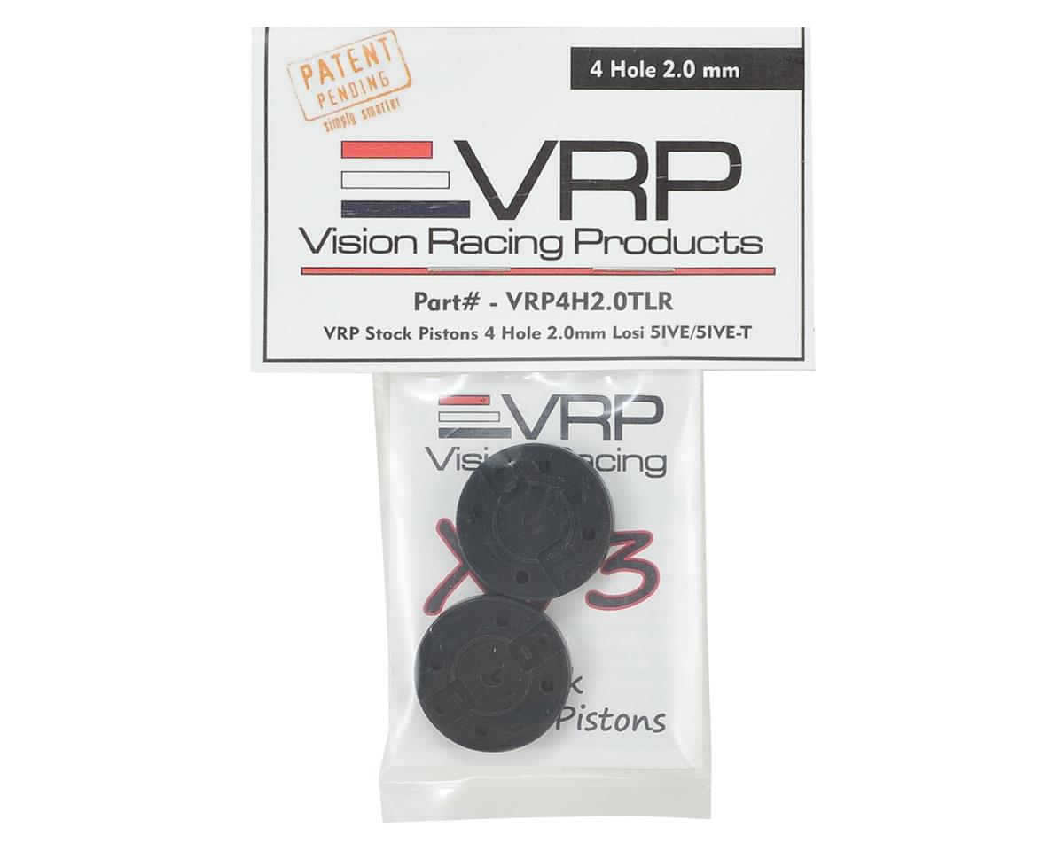 VRP Losi 5IVE-B/5IVE-T 1/5 Shock Piston (2) (2.0mm x 4 Hole)