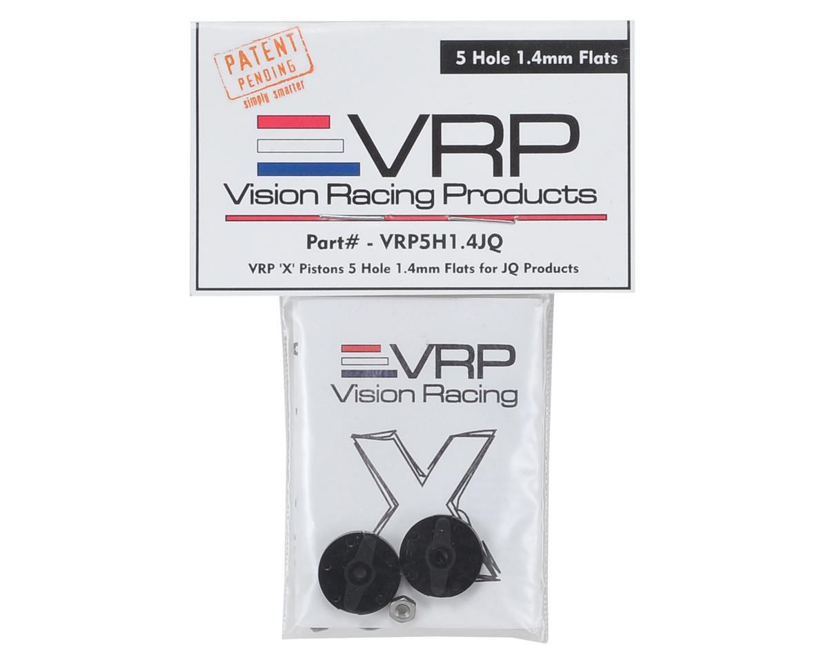 "VRP JQ Big Bore 1/8 ""X V2"" Shock Piston (2) (1.4mm x 5 Hole)"