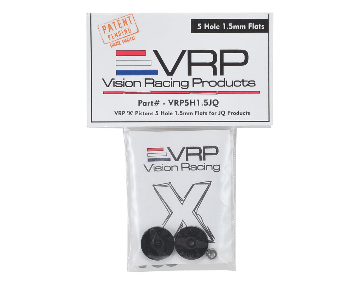"VRP JQ Big Bore 1/8 ""X V2"" Shock Piston (2) (1.5mm x 5 Hole)"