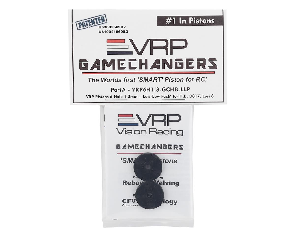 "VRP Hot Bodies/TLR 1/8 ""Gamechanger"" Piston (2) (1.3mm x 6 Hole) (Low-Low Pack)"